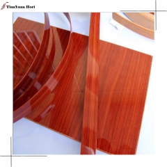 China manufacturer high quality furniture cabinet pvc highlight edging banding tape