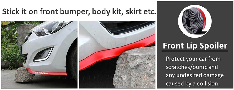 Hot Products Quality Supplier car Rubber Bumper Strip