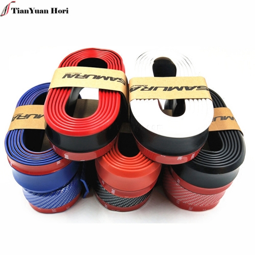 China manufacture Universal Skirt car Protection 2.5M front rubber car decoration bumper guard strip