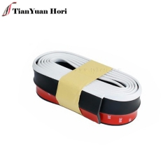 Hot New Product in China White Lip Skirt Rubber Protector Car Body stickers Front Bumper Guard Lip