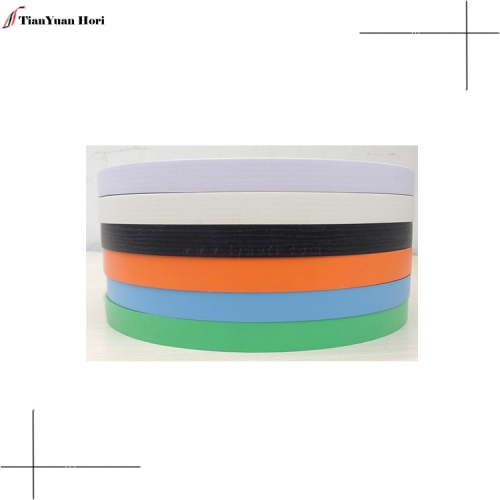 online shopping plastic edge banding tape for particle board home white black solid color pvc edge banding