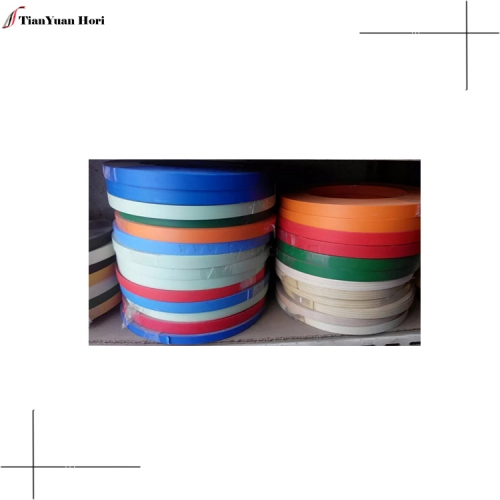 online shopping pvc edge banding tape for furniture kitchen cabinet solid color MDF table edge banding