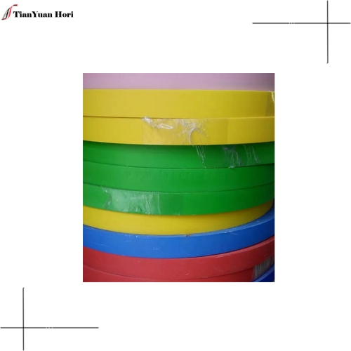 China factory furniture accessories office desk pvc edge banding plastic solid color edge banding tape