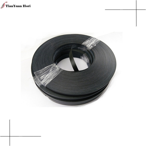 Factory direct wholesale plywood edge banding black home furniture 2mm solid color pvc edge banding tape