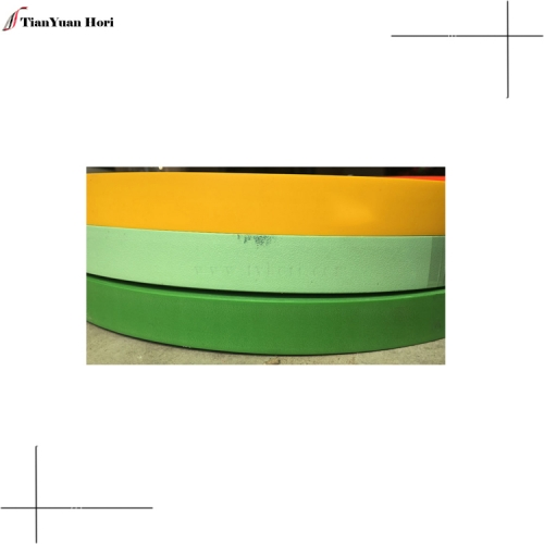 China new products hot items 3mm furniture table decor edge trimming solid color pvc edge banding