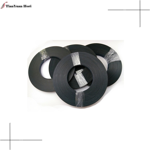 New products on China market pvc cabinet pvc edge tape 2mm black solid color edge banding for furniture part