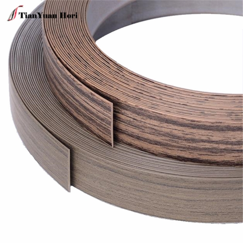 wholesale china factory ambry accessories 2mm wood grain pvc edge banding