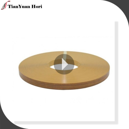 China suppliers latest shop pre glued  edging banding for furniture wood grain edge banding tape India