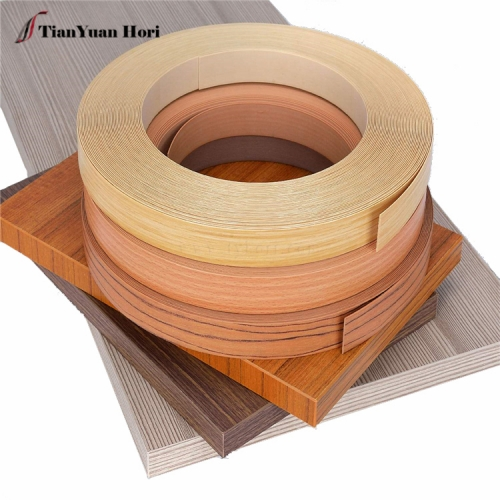 factory direct fashion furniture accessories edge trim plastic wood grain edge banding