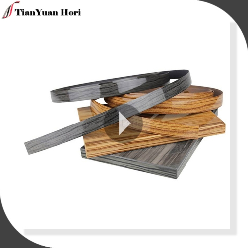Best selling hot China products wood grain edge strip cabinet pvc wood grain edge tape