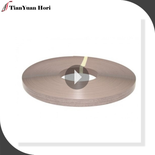 Hot new products for 2018 table edging trim wood grain pvc edge banding