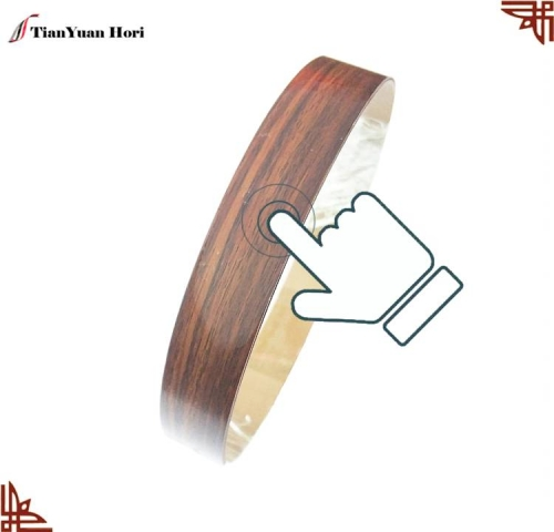 china factory laminate wood grain plastic furniture edge trim decorative cabinet mdf edging strip high gross pvc edge banding
