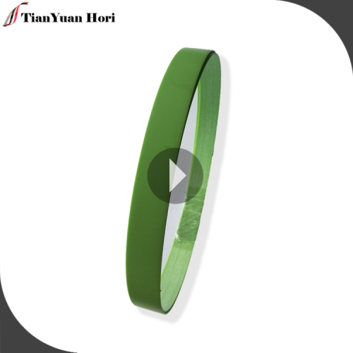 chinese factory high quality plastic strip 1mm best green color pvc edge banding