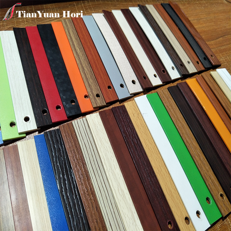 china factory laminate wood grain plastic furniture edge