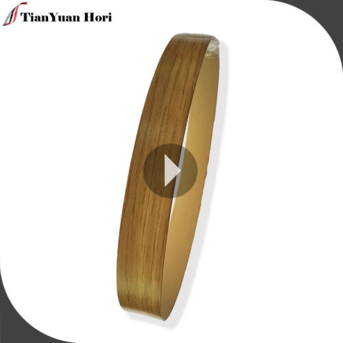 china supplier cabinet wooden decorative pvc edge bands mdf edging strips trim