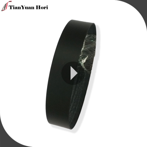 Factory wholesale black frosted surface pvc edge banding tape for mdf