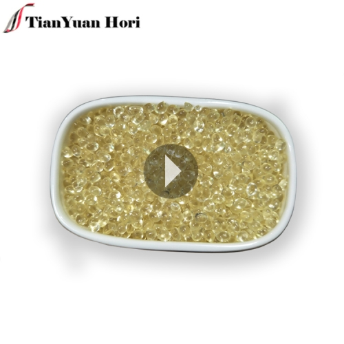 China manufacturer wholesale woodworking yellow transparent crystal eva resin granules hot melt glue adhesive